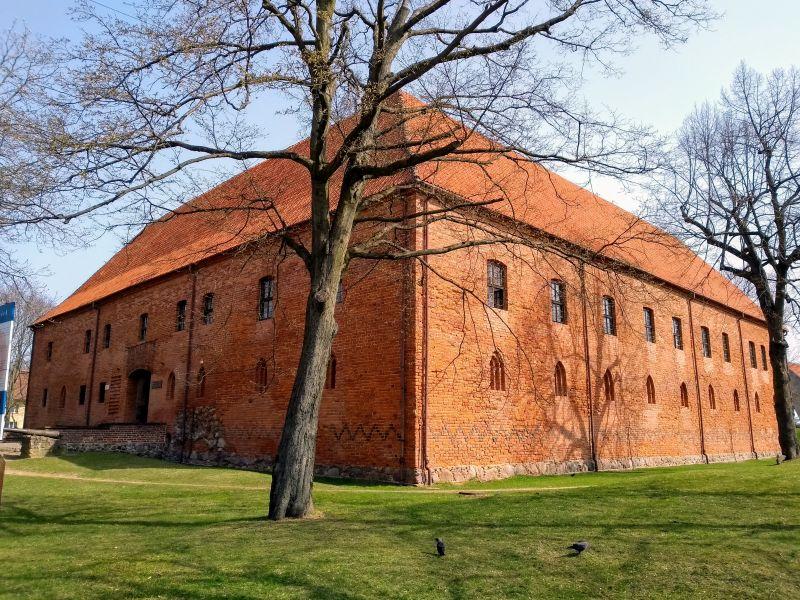 Zamek krzyżackiw Ostródzie
